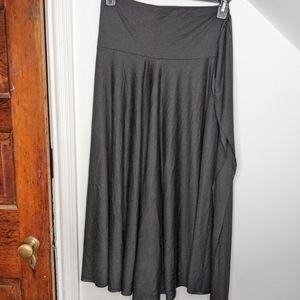 ELAN Convertible Maxi Skirt Cover-Up Black